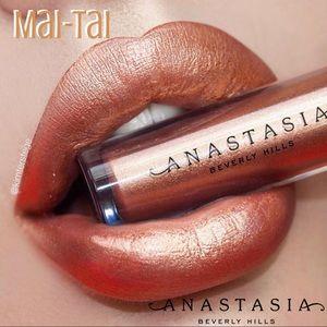 🍹NEW ABH MAI TAI Mini Metallic Liquid Lipstick